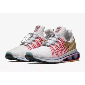Nike Shox Gravity Mens Olympic Grey Metallic Shoe